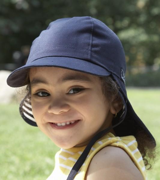 UV-Schutz Schirmmütze Baby PCI blau