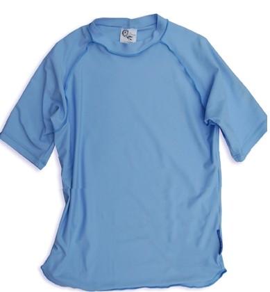 UV-Shirt LIS hellblau kurzarm