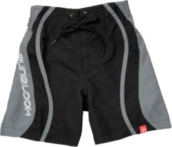 UV-Schutz Shorts SB schwarz/grau/weiß
