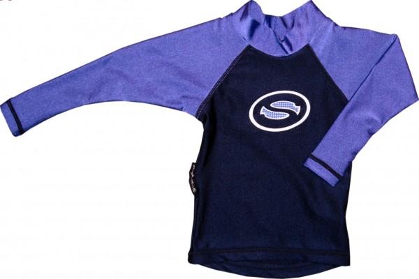 UV-Schutz 2-Teiler mit Shirt langarm SB blau
