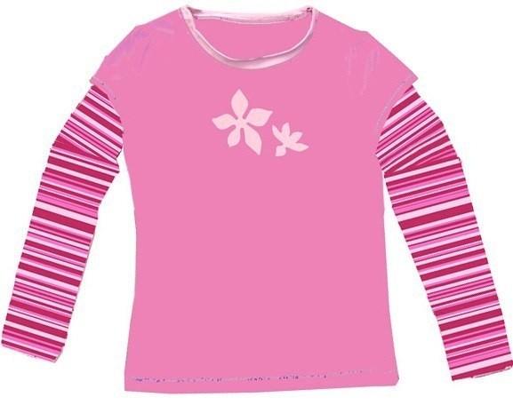 UV-Shirt LIS rosa langarm