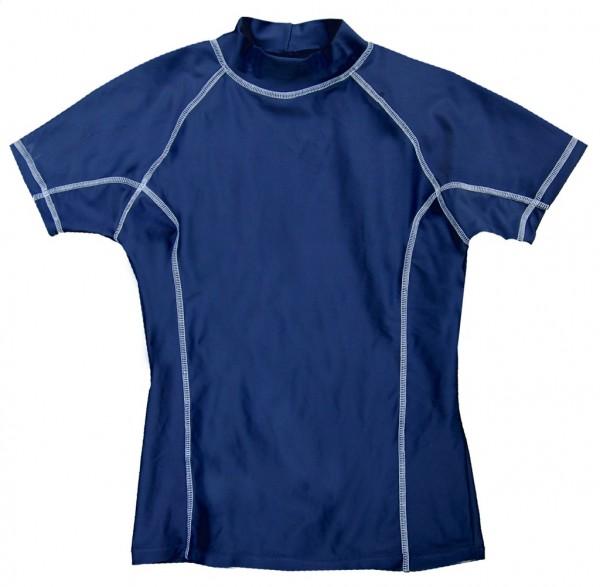 UV-Shirt LIS dunkelblau kurzarm